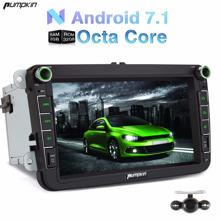 Cheapest prices US $351.74  Pumpkin 2 Din Android 7.1 Car DVD Player GPS Navigation Bluetooth Car Stereo For VW/Golf/Seat Wifi Radio DAB+ Headunit Free Map  #Pumpkin #Android #Player #Navigation #Bluetooth #Stereo #VWGolfSeat #Wifi #Radio #DAB+ #Headunit #Free  #OnlineShop