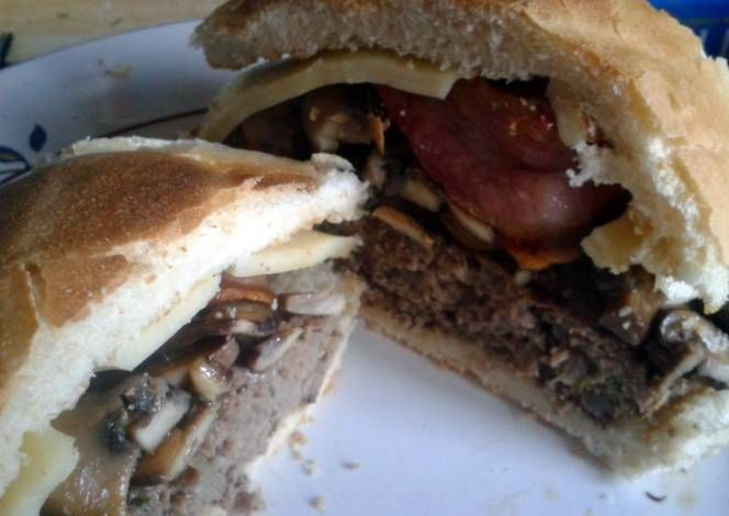 'The Big Swiss' Aberdeen Angus Burger Recipe -  How are you today? How about making 'The Big Swiss' Aberdeen Angus Burger?