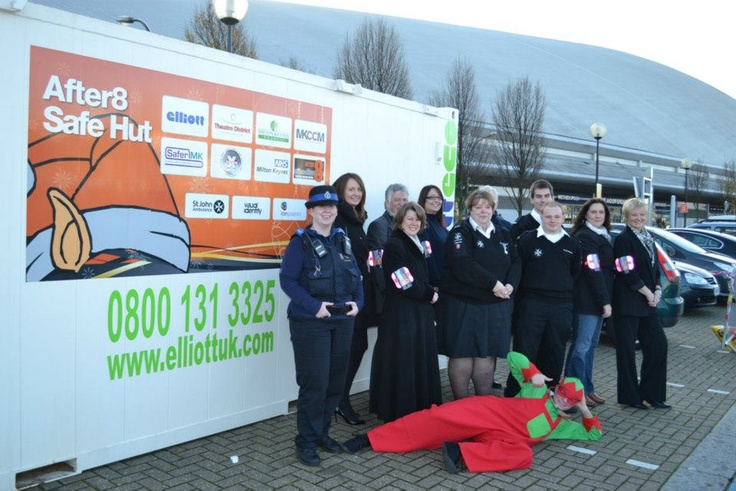 Our client has donated a temporary modular building to the National 'elf Service in Milton Keynes for the third year running. The eco-cabin will be used throughout the Christmas period to provide respite care and first aid to party-goers in the town centre.