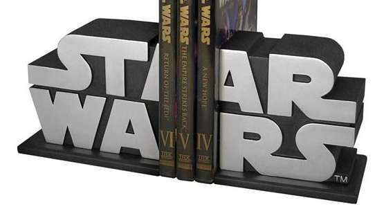 STAR WARS book ends.