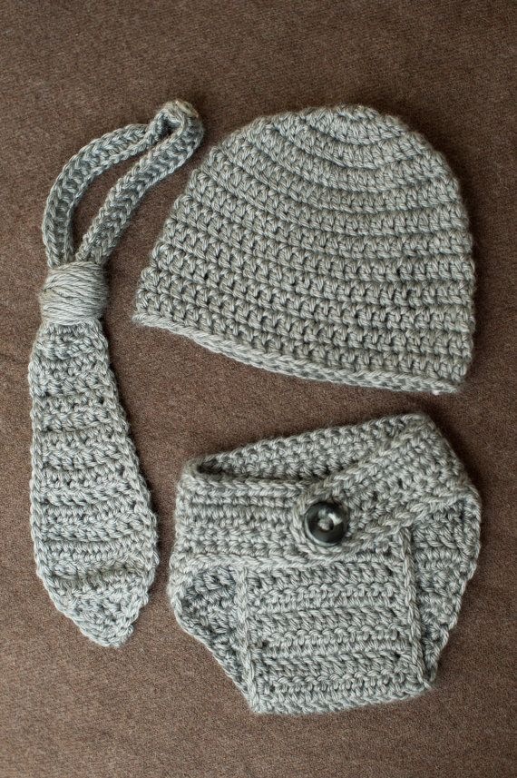 Infant Crochet Baby Diaper Cover Set by EverydayCrochet365 on Etsy