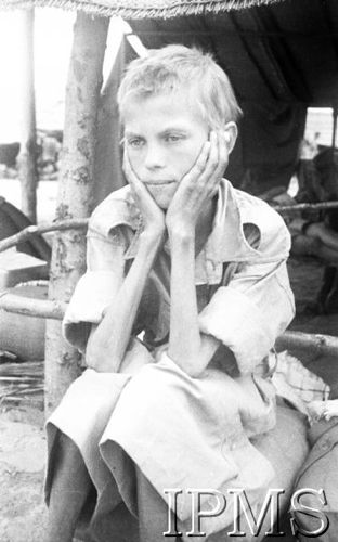 WW2: An emaciated Polish girl, one of thousands of civilian Poles who were evacuated from Soviet gulags with the so-called Anders' Army . Refugee camp in Pahlevi, Soviet-occupied Iran, September 1942 via reddit [[MORE]] Background:  In September 1939 the Nazi Germany and the Soviet Union attacked Poland from two opposing sides and declared it to be non-existent. Approx. 2 millions of Polish citizens who found themselves under the Soviet occupation were arrested or imprisoned, including...