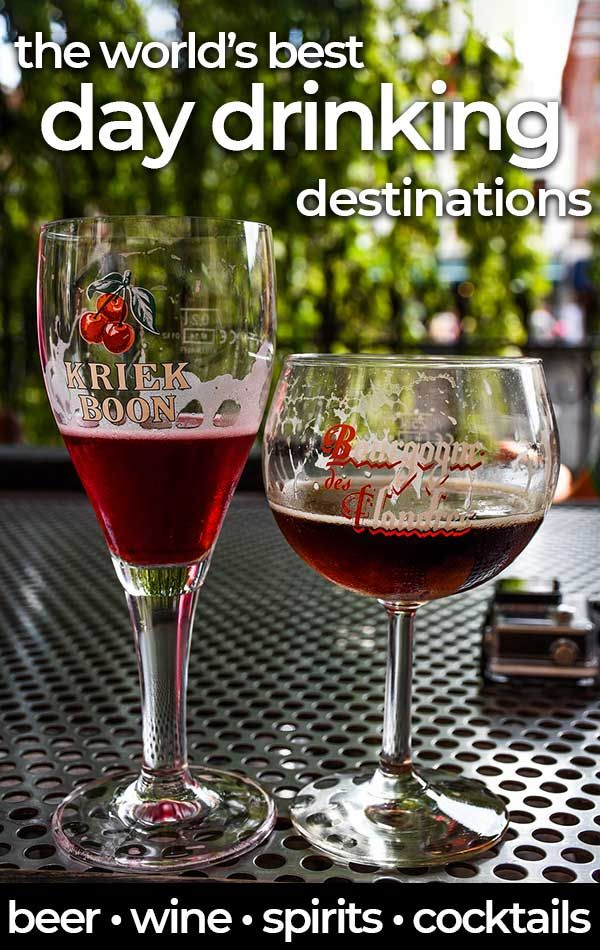 50 of the Very Best Places for Day Drinking Around the World | Drinking  around the world, Wine travel, Day drinking