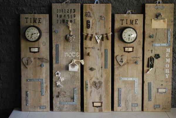 Steigerhouten memoryplank   Eigen collectie   Tante Jo & Zo