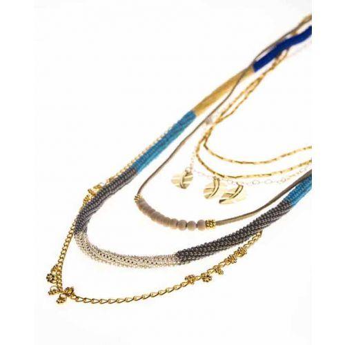 Tubos Embera Azul