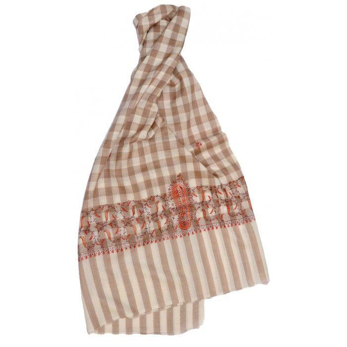 Tosha Check Shawl   http://www.indiancraftsmen.com/accessories/shawls/tosha-check-shawl-tcsh0139