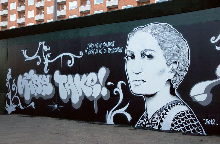 Work by Miss Take (DK), 2012, Copenhagen