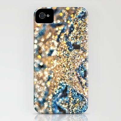 glitter phone cover