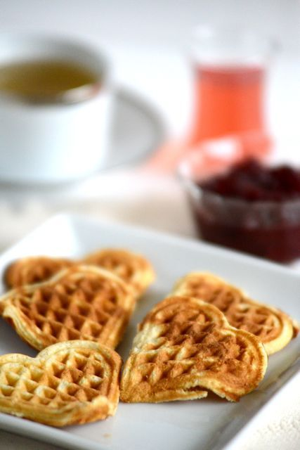 Norwegian Waffles | Visit Outside-Oslo.com for a recipe that goes back generations.