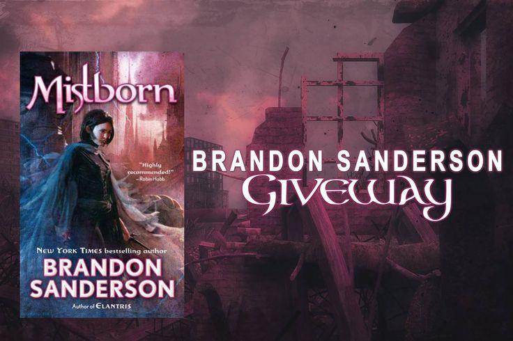#Fantasy #Giveaway – Win Any #BrandonSanderson Novel! #kindle #amreading