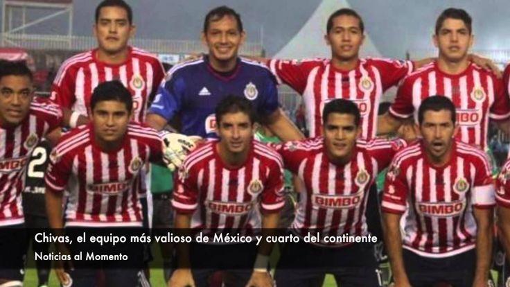 Chivas, el equipo más valioso de México y cuarto del continente | Notici...