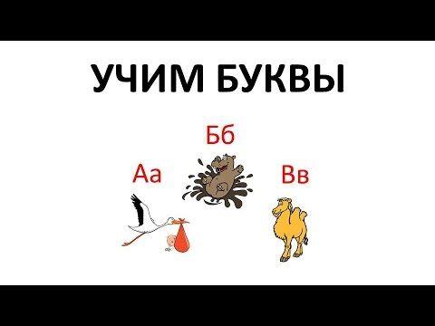 Учим буквы русского языка. Данное обучающее видео поможет вашему ребенку выучить русский алфавит с помощью ассоциаций с картинками.