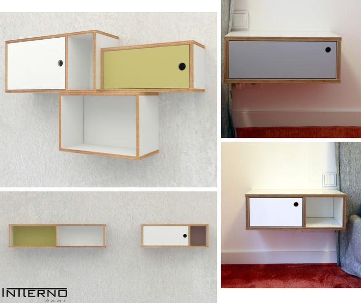 szafka ze sklejki Intterno plywood furniture #plywoodcupboard by #intterno