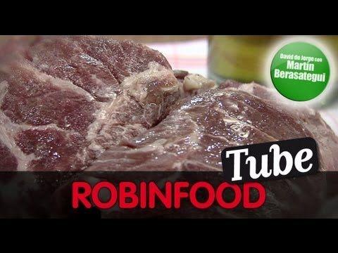 ROBINFOOD / Carrilleras de cerdo guisadas + Martini con Martín - YouTube