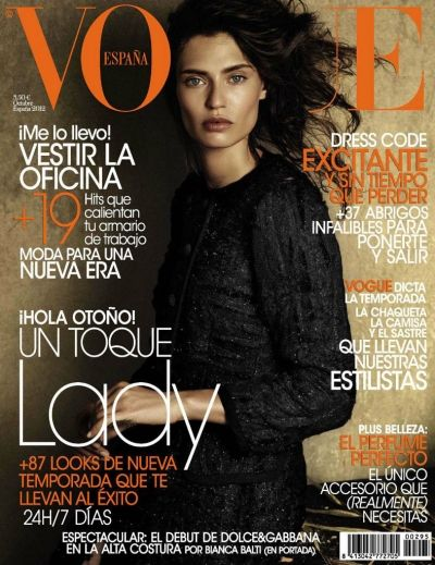 Bianca Balti for Vogue Spain October 2012Fashion, Vogue Spain, Biancabalti, October 2012, Spain October, Giampaolo Sgura, Magazines Covers, Vogue Covers, Bianca Balti