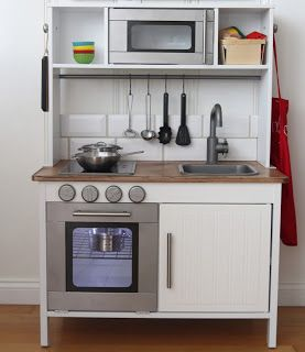 Play kitchens silly putty and ikea on pinterest - Mini cocina ikea ...