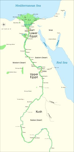 Best Geography River Nile Images On Pinterest Nile River - Map of egypt showing nile river
