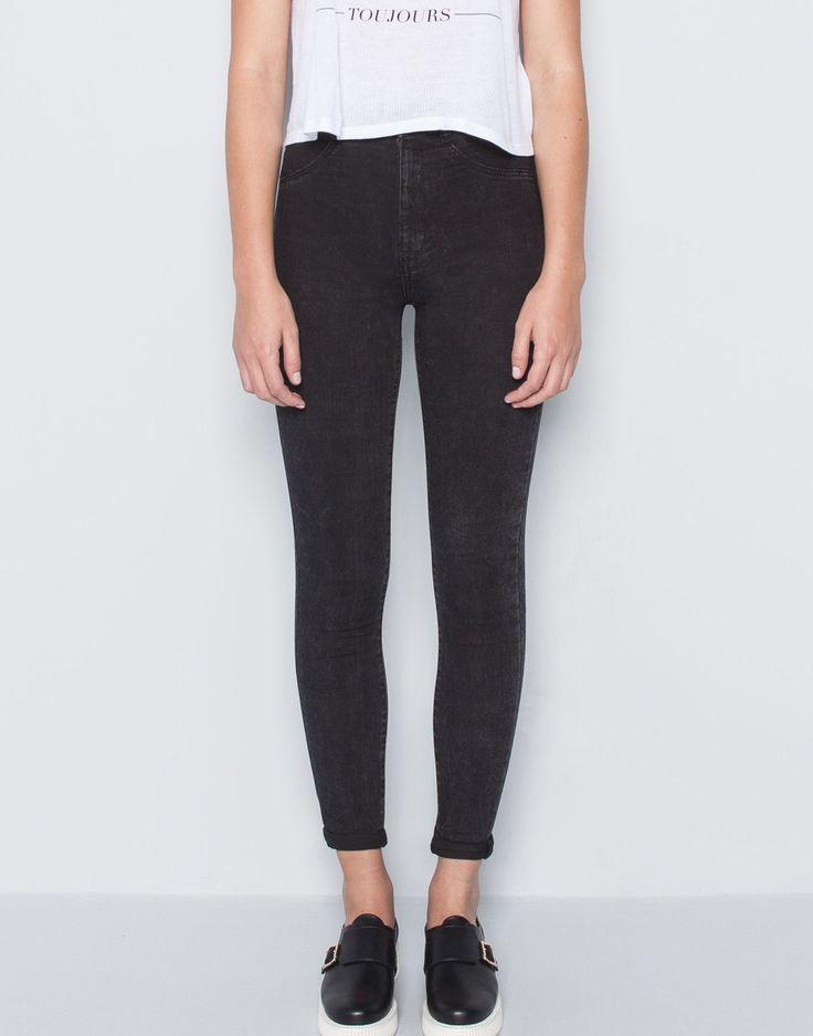 les 25 meilleures id es de la cat gorie jegging taille haute sur pinterest jeans taille haute. Black Bedroom Furniture Sets. Home Design Ideas