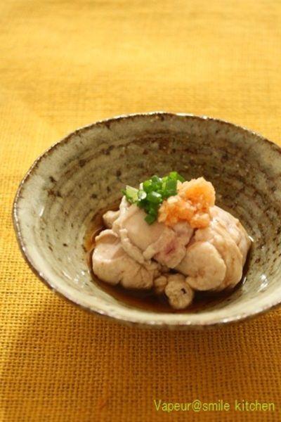 「秋鮭の白子の湯引き」のレシピ by miraku-ruさん | 料理レシピブログサイト タベラッテ