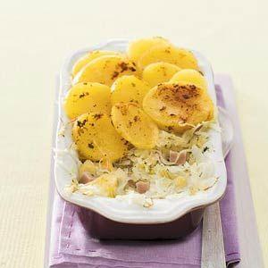 Recept - Zuurkoolschotel ham en ananas - Allerhande *360kcal