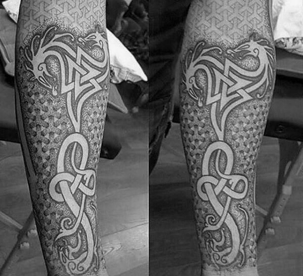 50 Celtic Dragon Tattoo Designs For Men Knot Ink Ideas In 2020 Celtic Dragon Tattoos Tattoo Designs Men Dragon Tattoo