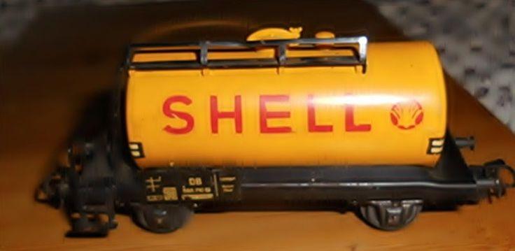 #Märklin #Eisenbahn-Kesselwagen #Shell