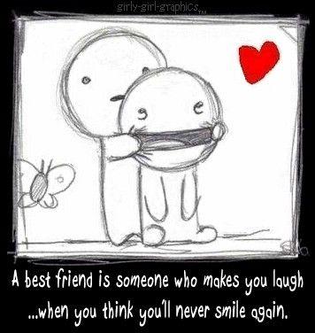 a best friend . . .