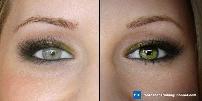 Enhancing eyes in Photoshop.   http://photoshoptrainingchannel.com/enhancing-eyes-in-photoshop/ #Photoshop #Eyes