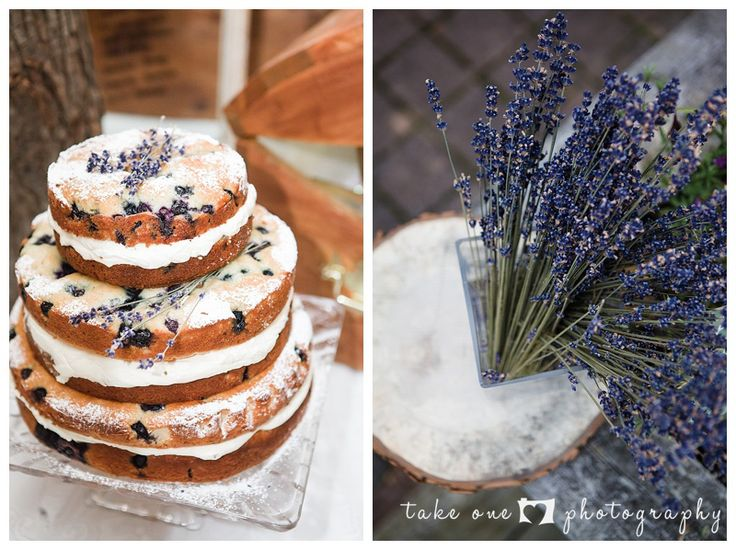 lavender wedding cake - take 1 photography