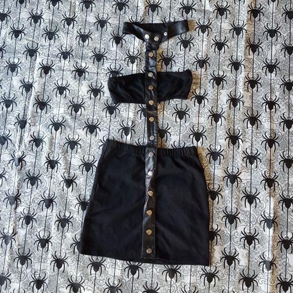 LIP SERVICE Oh Snap!!! halter mini dress #96-078