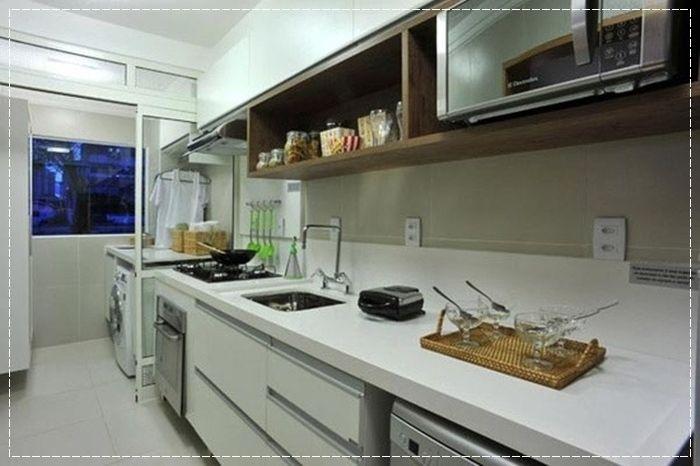 Cozinha pequena, Cozinha americana, tiny kitchen, Cozinha ...
