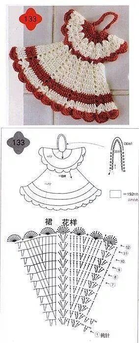 Presina a forma di vestito