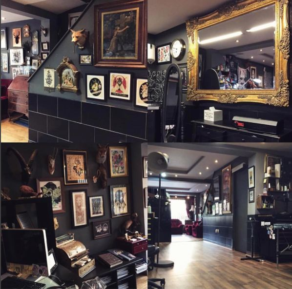 Best 25 tattoo shop decor ideas on pinterest tattoo for Tattoo shop design