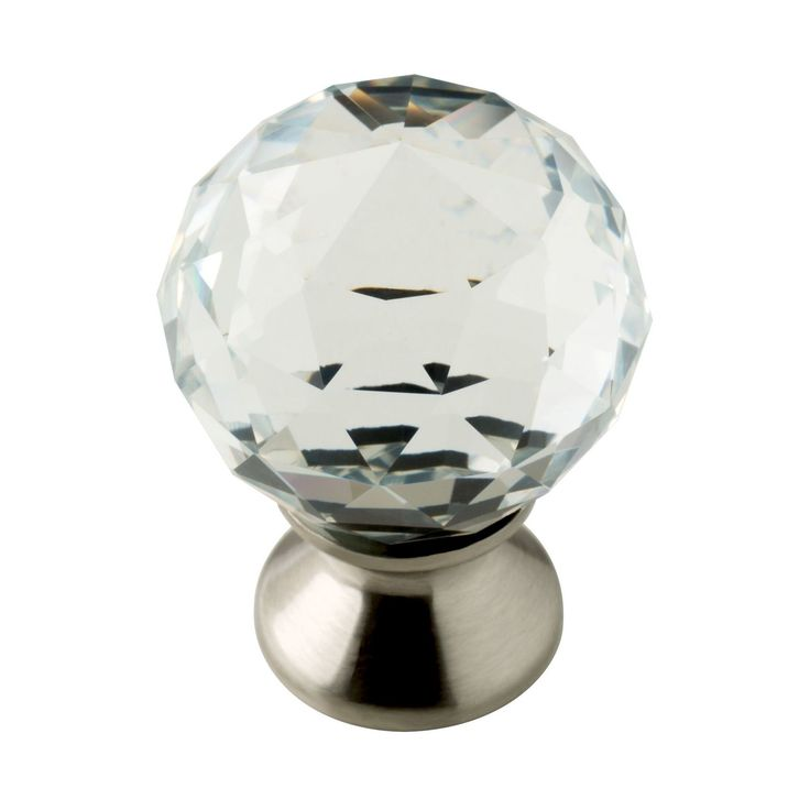 Crystal Knob - 2 pack - Threshold, Clear