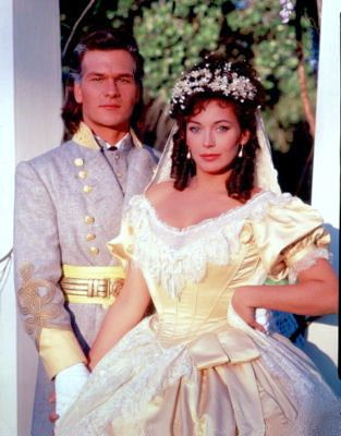 Patrick Swayze and Lesley Anne Down North and South