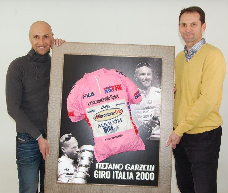 Maillot @StefanoGarzelli Giro Italia 2000 | Irrepetibles