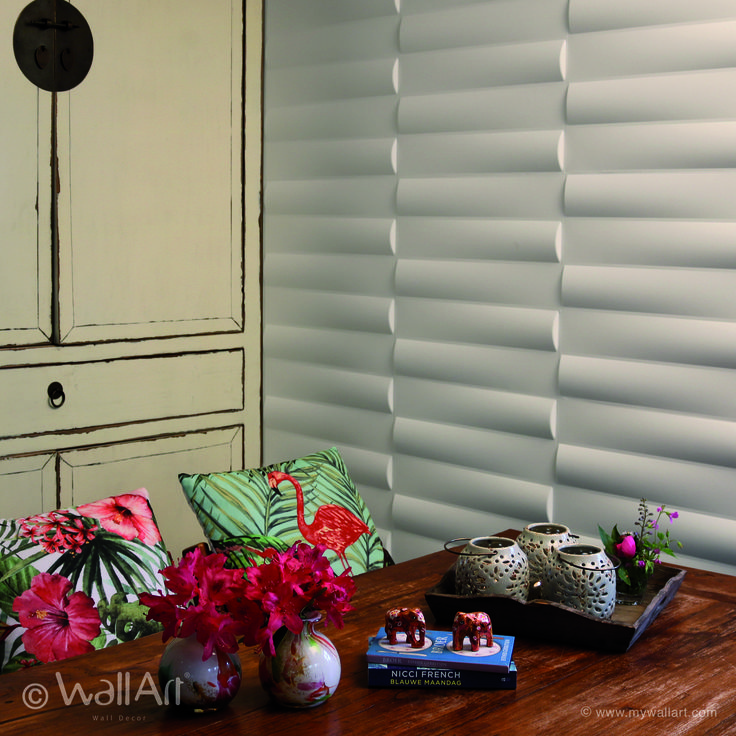 Newest design Jayden, 3D wall panels add the perfect depth and texture to your walls.