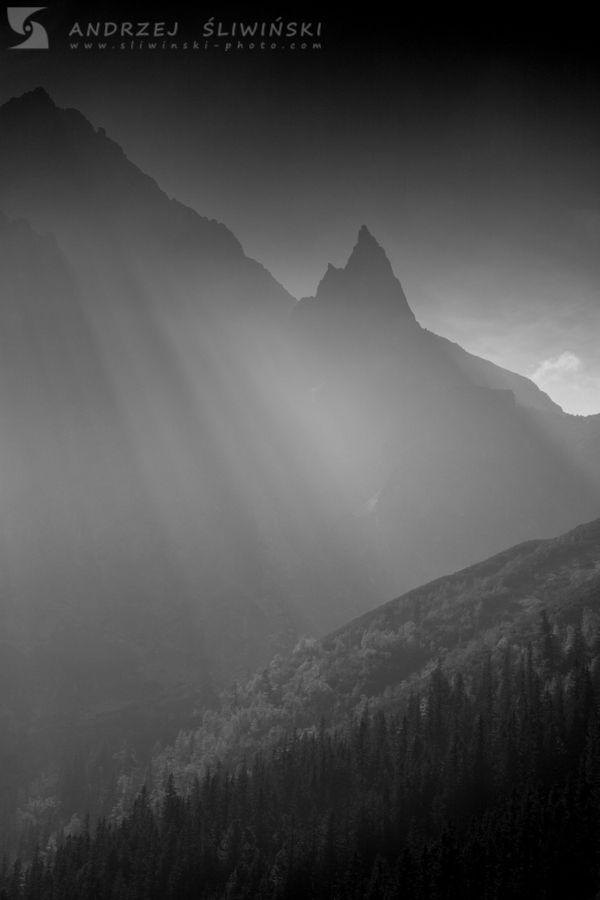 Mnich at Morskie Oko Lake, Tatra Mountains.