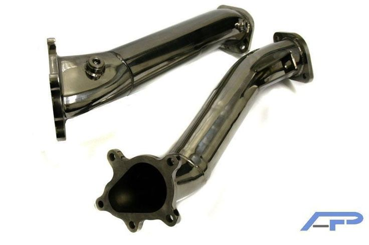 Agency Power 09+ Nissan R35 GT-R Polished Downpipes