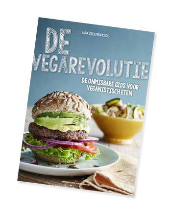 De vegarevolutie!  Informatie over het veganisme, onderbouwde informatie over gezonde, plantaardige voeding en alle feiten over de vee-industrie en het milieu. En met ruim 50 simpele recepten kun je meteen aan de slag om jouw voedingspatroon lekkerder, gezonder en eerlijker te maken! #devegarevolutie
