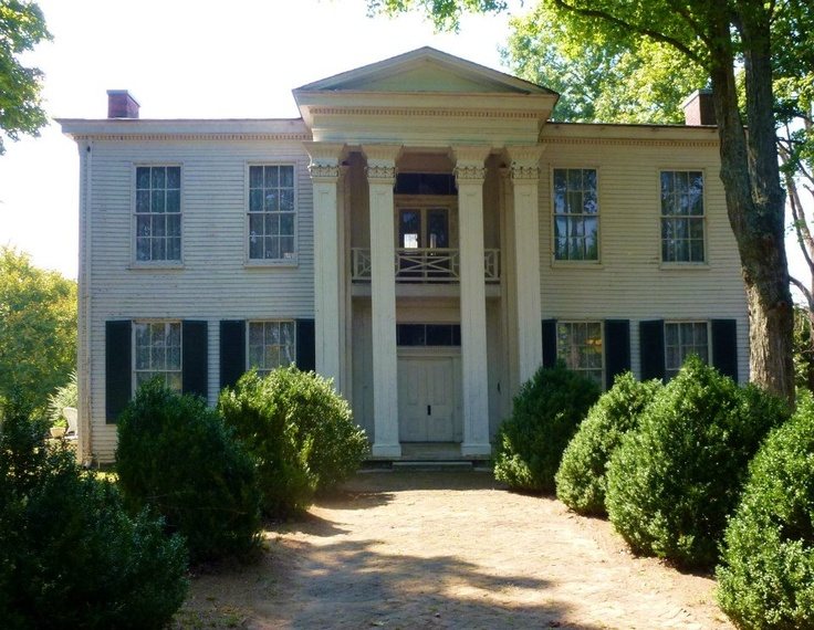 White Hall, Spring Hill, Tennessee. this is where Van Dorn and Jesse Peters love tryst started. Mrs. White demanded that the general move his headquarters elsewhere.