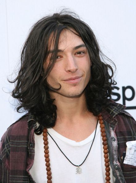 "I don't know how many times I've had to explain this, ""Yes, I find Ezra Miller attractive.""  ""With the hair??!"" ""With the hair..."""