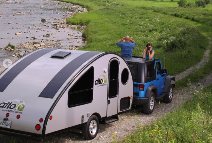 Canadian design that rules adventure trailers