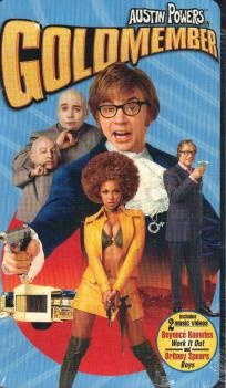 Austin Powers - Goldmember - VHS - SEALED - FREE SHIPPING $8.50