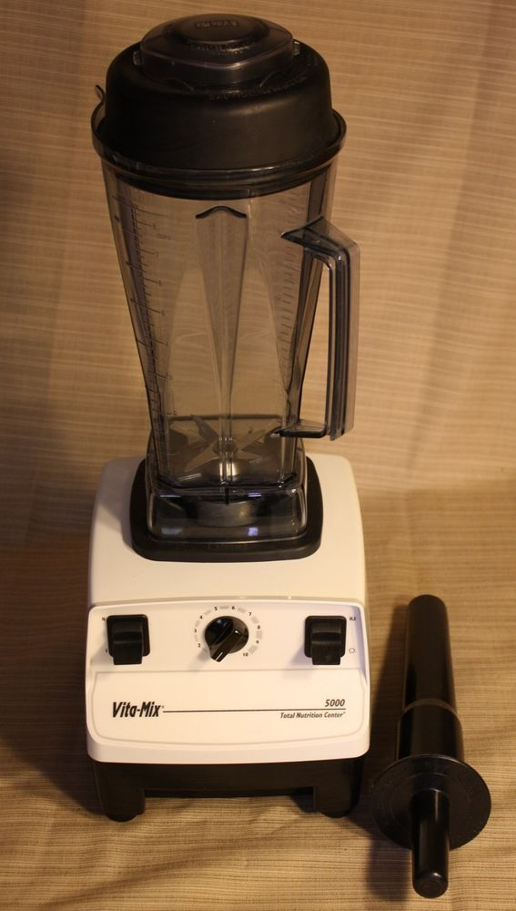 Vitamix 5000 Variable Speed Blender Total Nutrition Center With Tamper