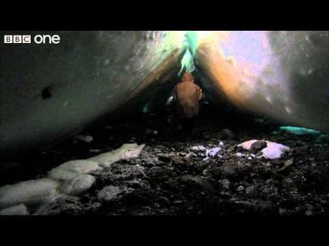 For The Very Last First Time---  Race against the tide, risking death under huge blocks of ice - Human Planet: Arctic - BBC One