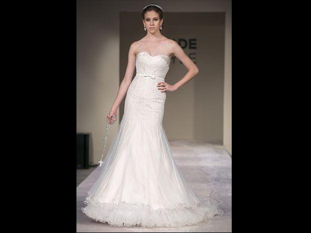 Vestido de noiva: decote coração compõe modelos de diferentes estilos - Notícias - Noivas GNT