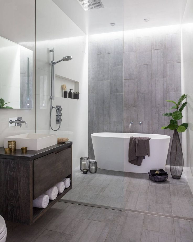 Bathroom in a New York apartment