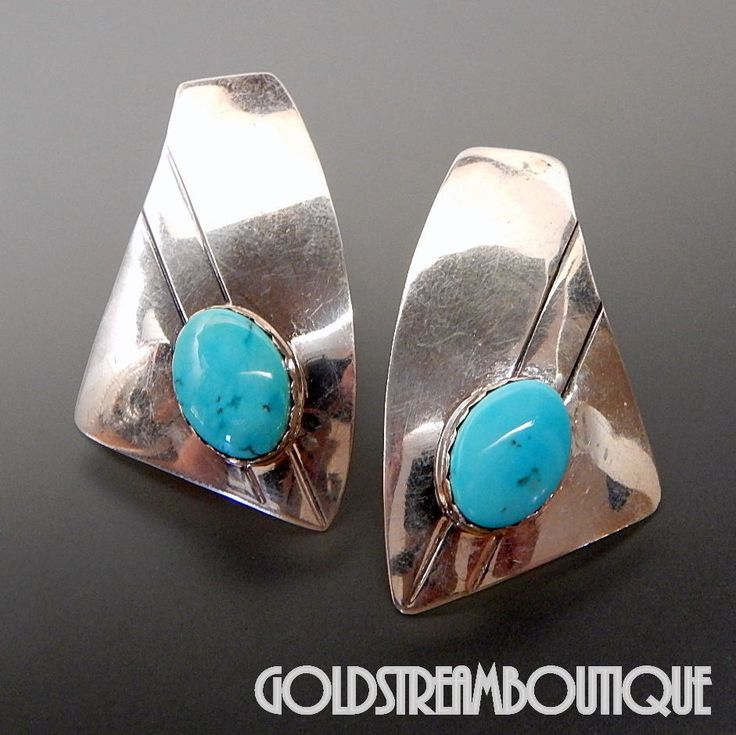 Native American Geraldine James Navajo Sterling Silver American Turquo – Gold Stream Boutique