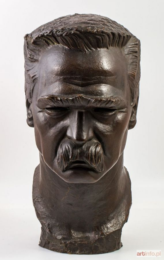 POLSKI RZEŹBIARZ ● JÓZEF PIŁSUDSKI, ok. 1930 ● Aukcja ● Artinfo.pl